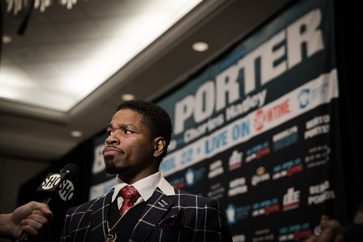 """Shawn Porter To Bob Arum: """"What Makes Kell Brook Worth More Than Shawn Porter? You Really Don't Want Terence Crawford To Have That Fight"""""""