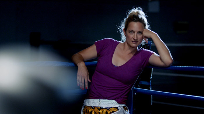 "Stunt Expert Turned Star Zoe Bell Talks ""Retired Fighter Redemption Story,"" Haymaker"