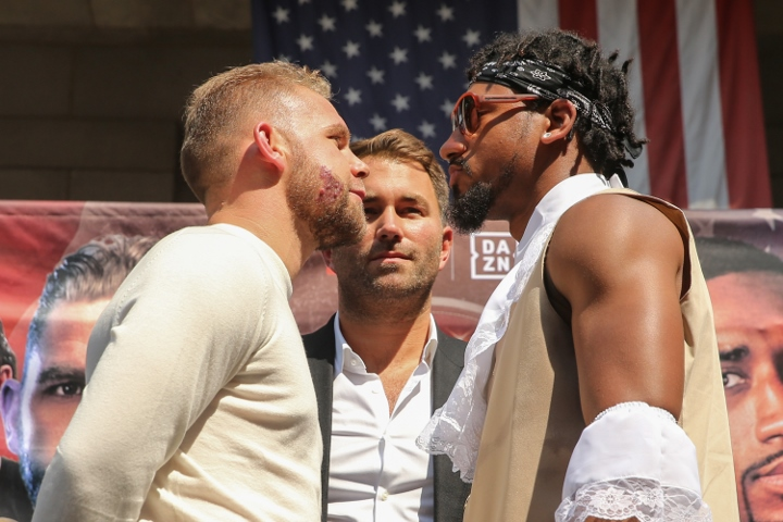 "Billy Joe Saunders Wants Demetrius Andrade Before Canelo: ""I Swear To God On My Kid's Life I Am Extremely Confident Of Knocking Him Out Cold"""