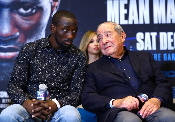 """Bob Arum On How Much He's Willing To Pay Shawn Porter In Possible Terence Crawford Clash: """"I'm Not Guaranteeing More Than A Million Dollars, I'm Just Not"""""""