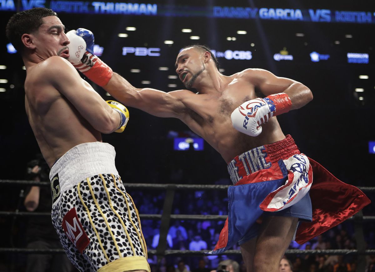 """Keith Thurman On Danny Garcia: """"He's Been Struggling Ever Since He Hit 147, Let's Be Real"""""""