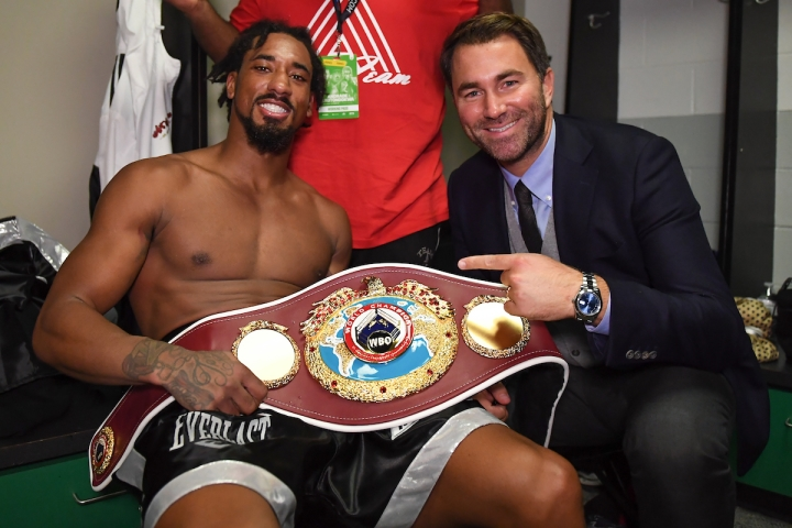 "Eddie Hearn: ""Champions Are Supposed To Fight Champions, Jermall Charlo Is Fighting, Ummm I Can't Remember His Name"""