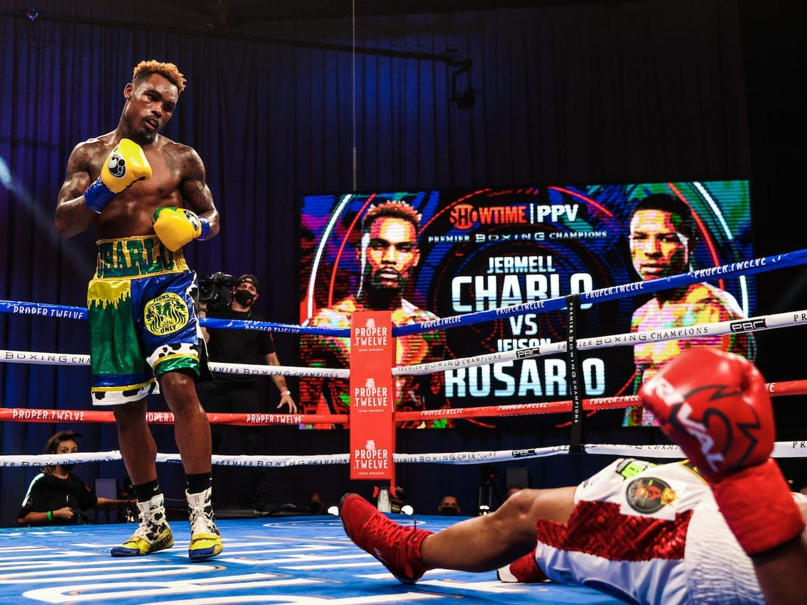 """Jermell Charlo: """"Danny Garcia Can't F*ck With Some Of The Dudes That Are Ranked Number Seven Or Eight"""""""