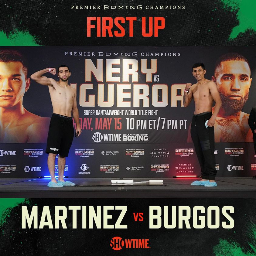 Showtime Results: Xavier Martinez Bests Juan Carlos Burgos In Exciting Bout