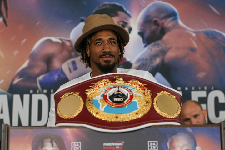 """Demetrius Andrade: """"Canelo You Going To Run Up To 175? Cool, I Can Meet You There"""""""