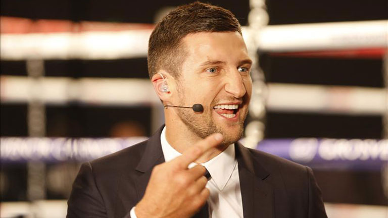 """Carl Froch: """"The Only Fighter That I Can See Give Canelo Any Sort Of Trouble Is Unfortunately In A Different Weight Division, Terence Crawford"""""""