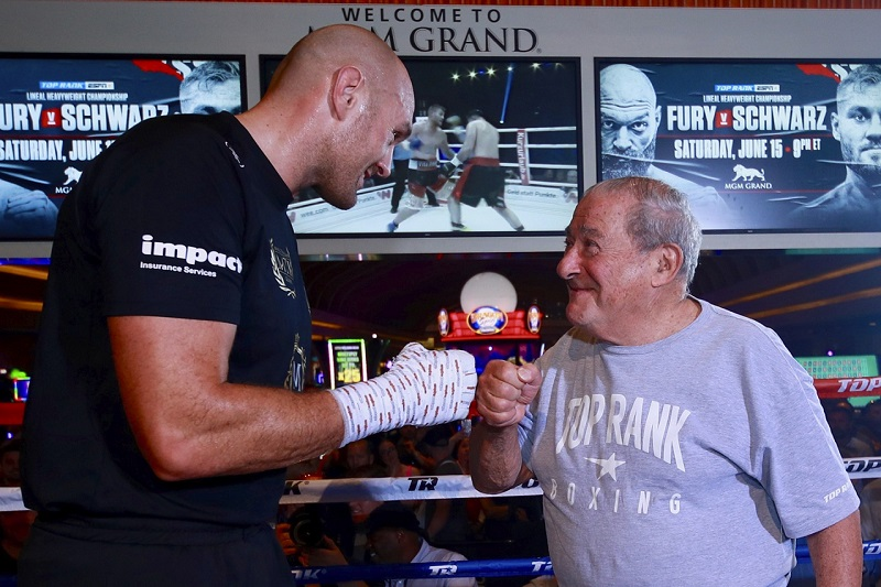 """Bob Arum Targets July 24th For Tyson Fury vs. Deontay Wilder 3: """"It's Better To Get Rid Of Him And Go About Our Business"""""""