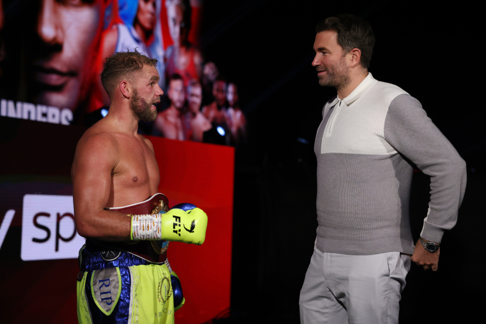 """Eddie Hearn Views Billy Joe Saunders As A Bigger Threat To Canelo Alvarez Then Caleb Plant: """"I'm not sure He's (Plant) As Quick, As Skillful And As Clever"""""""