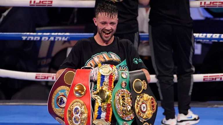 """Josh Taylor Believes Gervonta Davis Is Fighting For """"Mickey Mouse Title"""" Against Mario Barrios"""