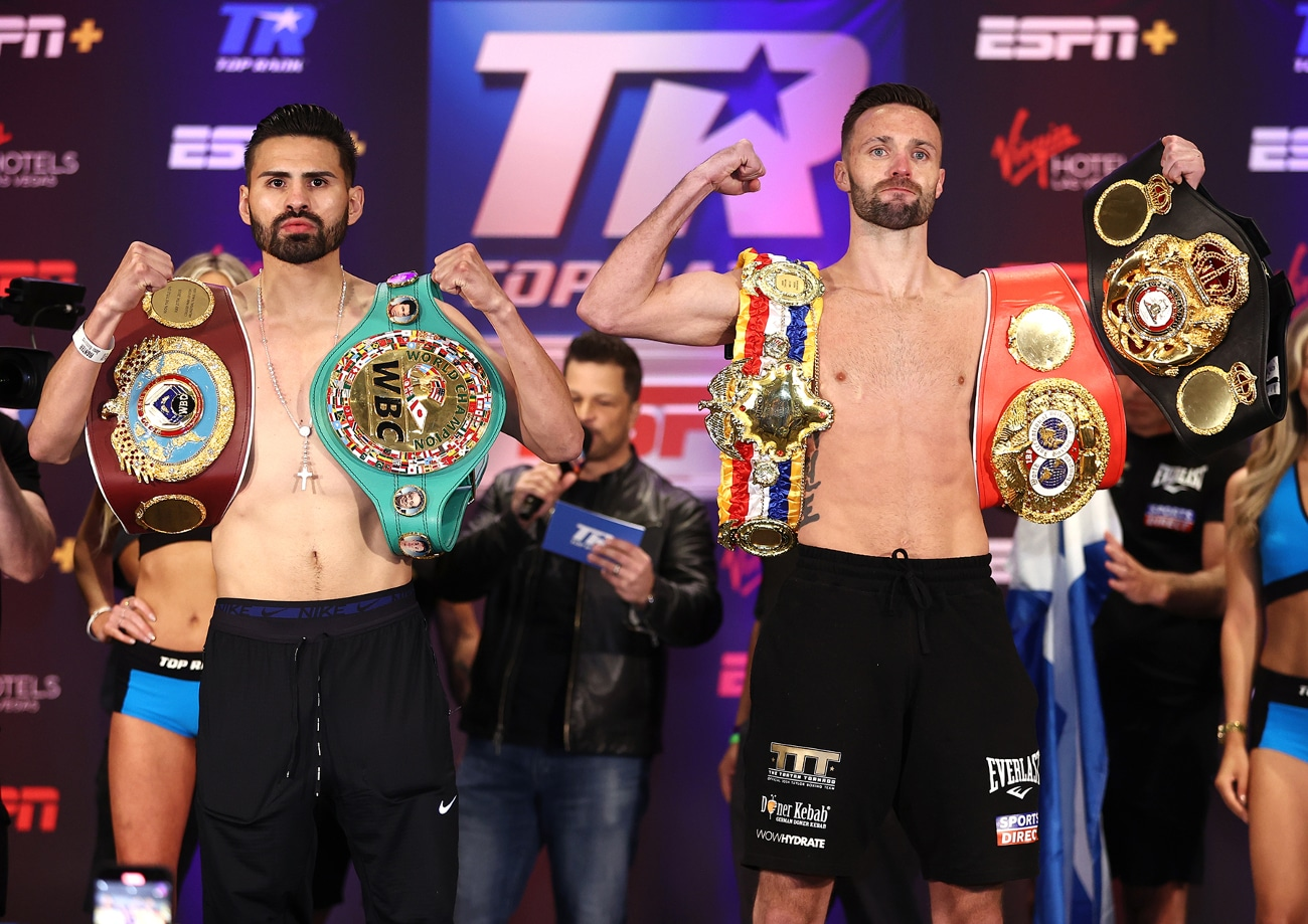 Jose Ramirez and Josh Taylor Will Take Glory Over Gold in Undisputed Title Fight