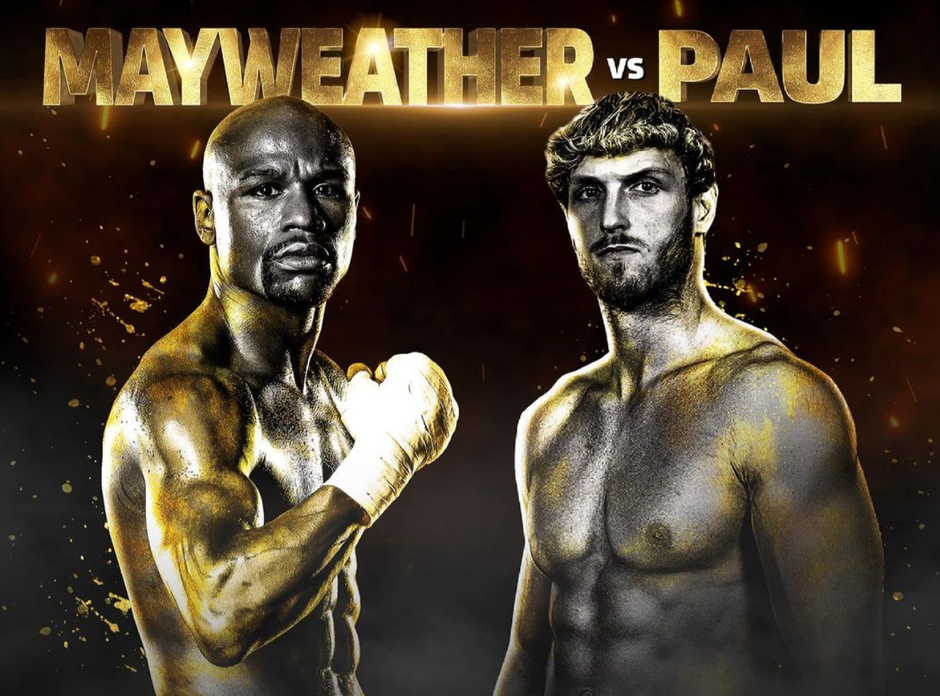 Floyd Mayweather vs Logan Paul Officially Annouced For Showtime PPV, June 6th