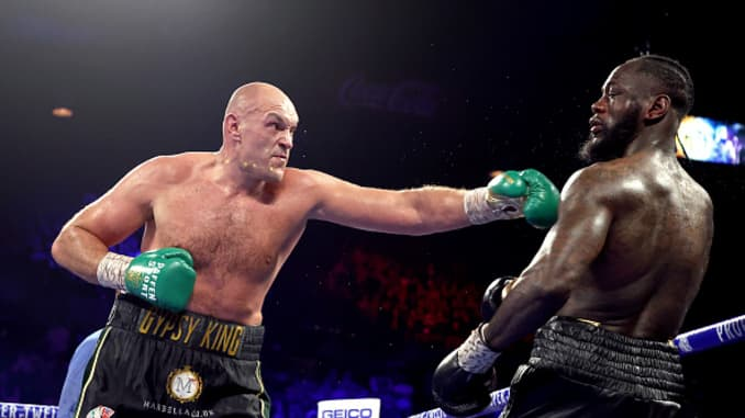 "Tyson Fury: ""Malik Scott's A B*tch And So Is Deontay Wilder, You Can't Teach An Old Dog New Tricks"" thumbnail"