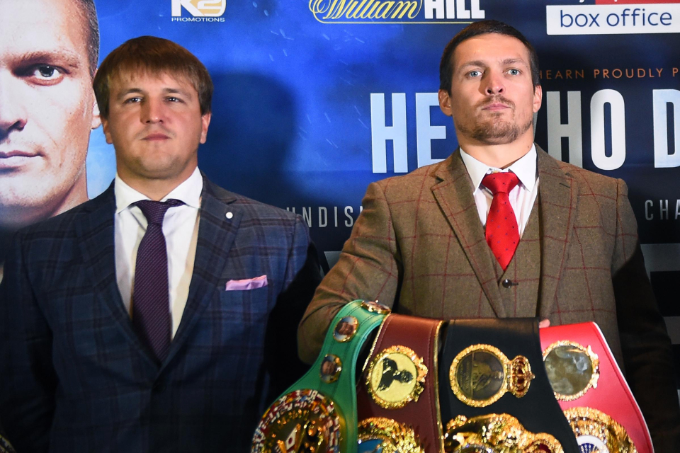 Alexander Krassyuk, Manager Of Oleksandr Usyk, Sits down With BoxingInsider.com To Discuss Usyk's Immediate Future