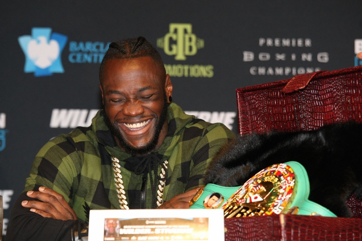 """Deontay Wilder: """"The Best Not Fighting The Best"""""""