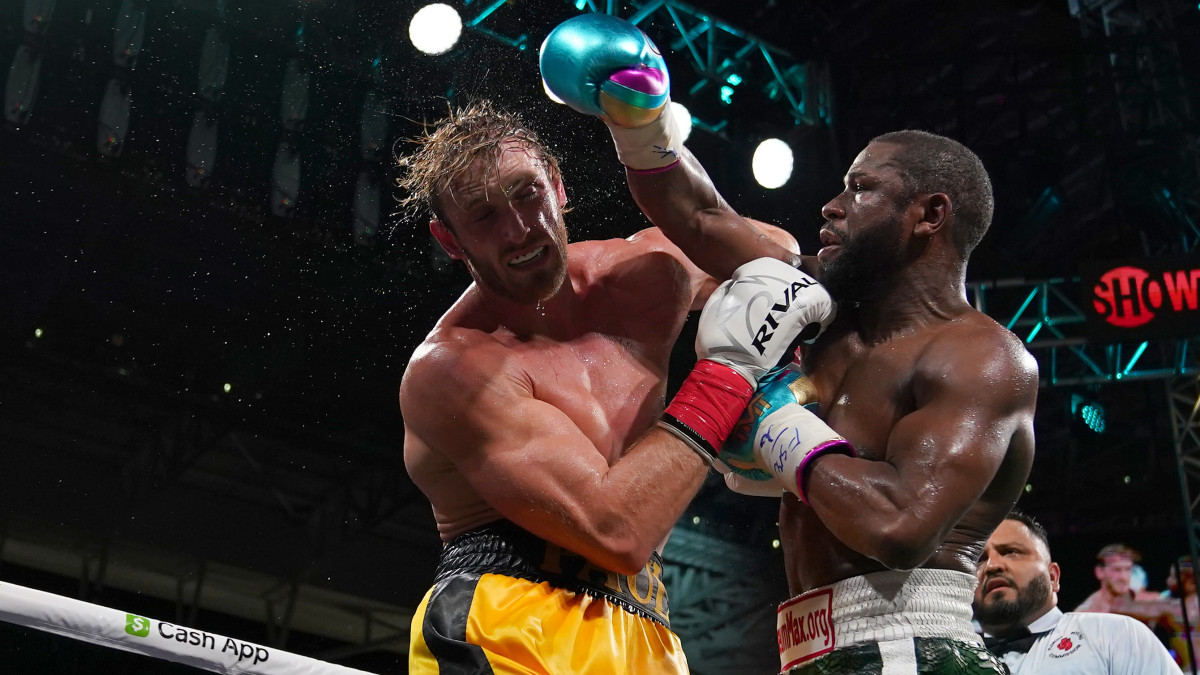 Logan Paul Gives KSI The Edge In Terms Of Punching Power Over Floyd Mayweather