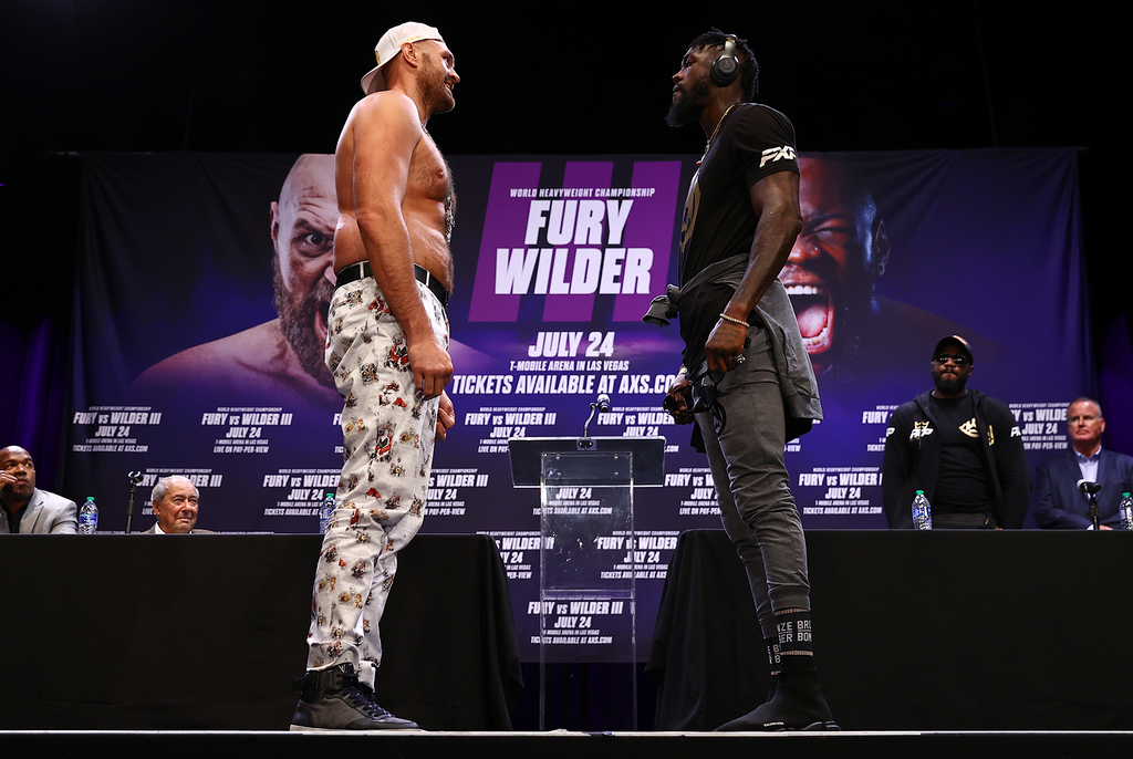 Fury-Wilder Press Conference Proves To Be A Strange Affair