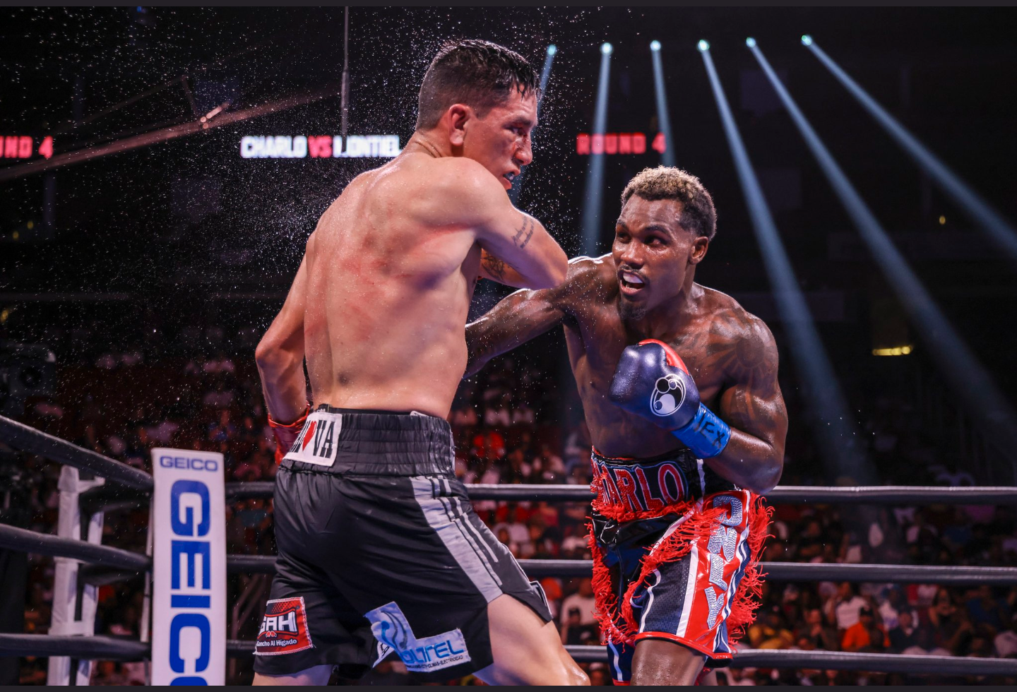 In An Absolute Thriller, Jermall Charlo Outclasses And Tops A Game, Relentless Juan Macias Montiel