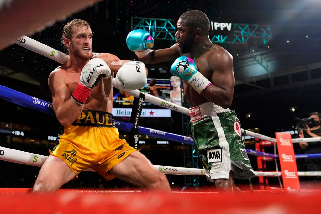 Floyd Mayweather-Logan Paul Fight Reportedly Brings In 1 Million Pay Per View Buys