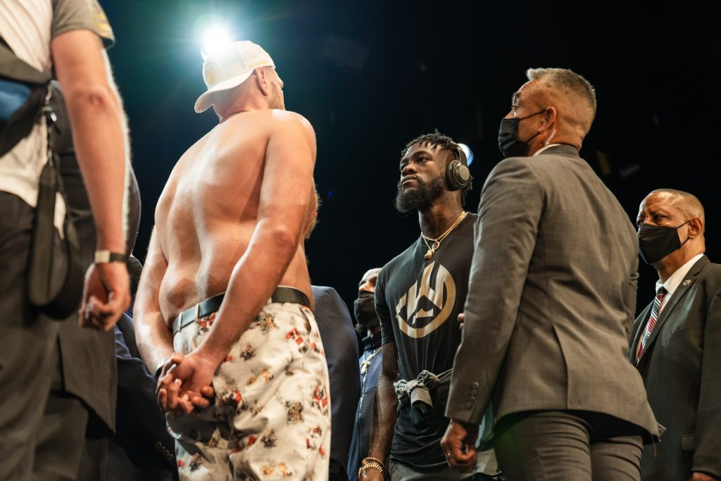 """Deontay Wilder: """"Enough Has Been Said, It's Time To Cut Off His Head"""""""
