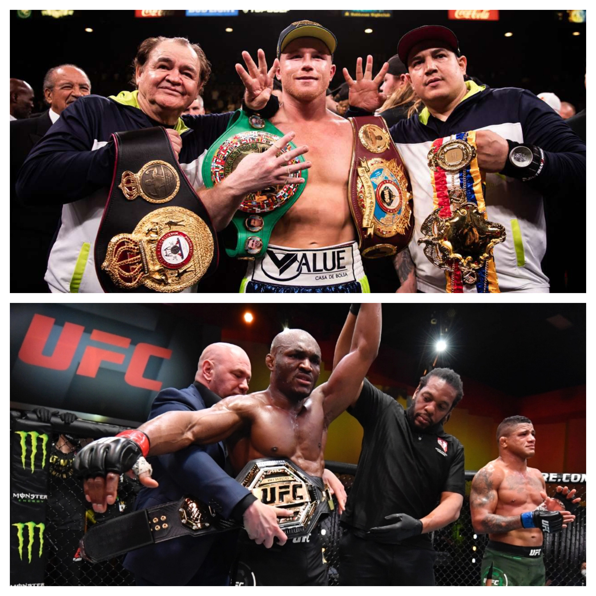 """UFC Star Kamaru Usman Confident He Could Defeat Canelo Alvarez In A Boxing Ring: """"I Can Do Anything I Put My Mind To"""""""