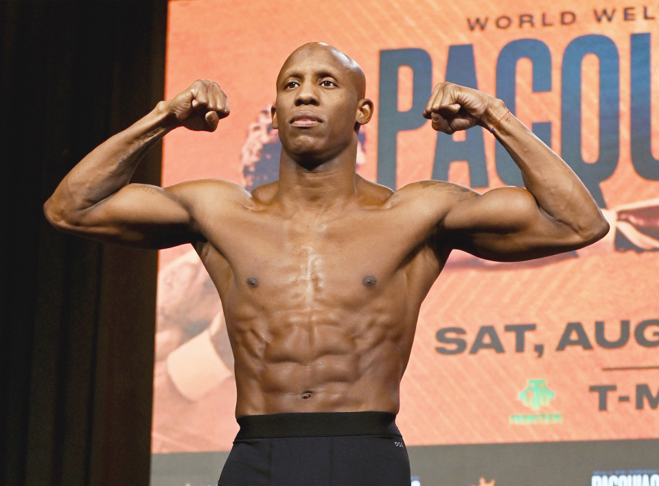 """Yordenis Ugas: """"Going Into The [Manny Pacquiao]  Fight, My Arm Remained Swollen But I Didn't Feel Any Pain"""""""