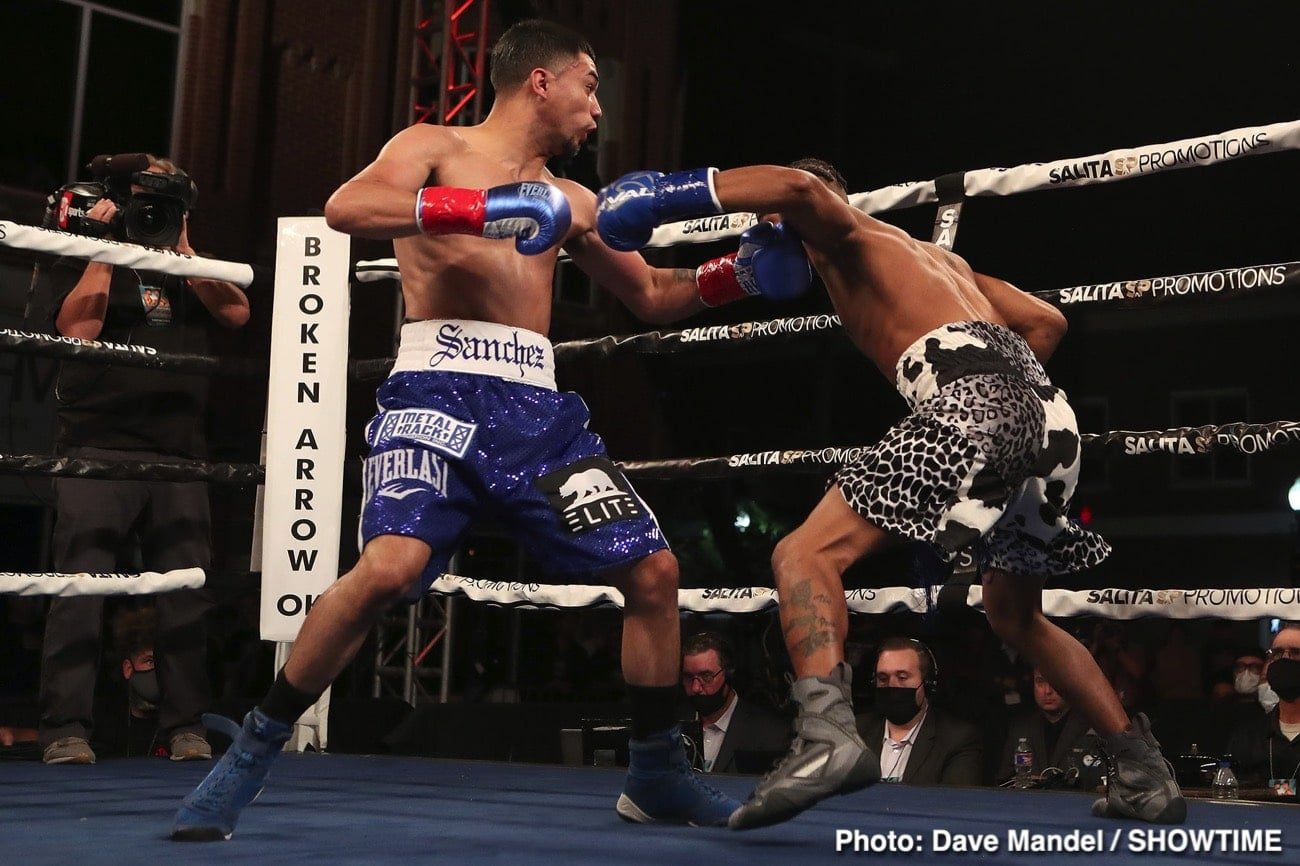 Saul Sanchez Wipes Out Ja'Rico O'Quinn In Less Than A Round