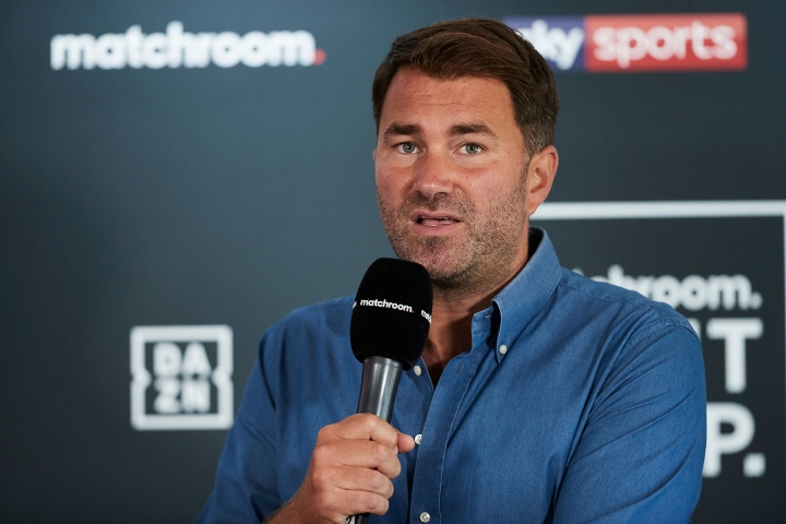 Eddie Hearn Only Gives Deontay Wilder A Puncher's Chance Against Dillian Whyte, Anthony Joshua, And Oleksandr Usyk