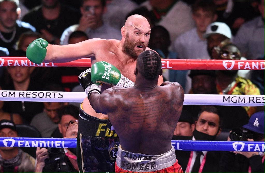 """Deontay Wilder: """"He [Tyson Fury] Came To Lean On Me, Try To Rough Me Up And He Succeeded"""""""